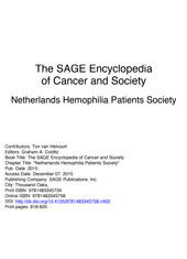 Netherlands Hemophilia Patients Society