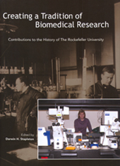 Creating a tradition of biomedical research